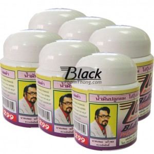 Black Phomthong Black Hair Growth Cream 80g.